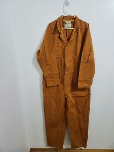 Kynol Safety With Comfort Orange Aramid Jumpsuit Coveralls Mens Xl