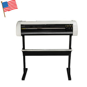 Us 33 Plotter Machine Cutter Vinyl Cutter Plotter W software With Stand Sell