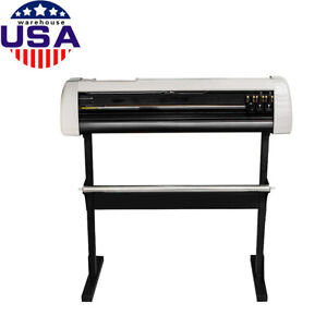 Us 33 Plotter Machine Cutter Vinyl Cutter Plotter W software With Stand Ce