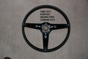 1968 1972 Pontiac Gto Lemans Grand Prix Firebird Steering Wheel 9749802