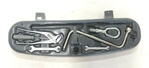 Bmw Oem E46 Trunk Tool Kit Tow Hook Wrench Spanner Phillips Pliers Crank Strap