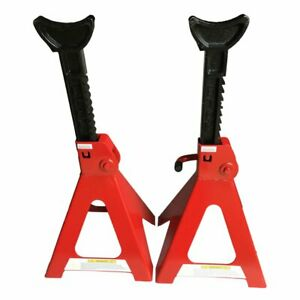 1 Pair Racing Jack Stands 6 Ton 12 000 Lb Heavy Duty Car Truck Auto