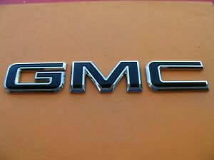 2019 2020 Gmc Sierra Rear Tail Gate Lid Emblem Logo Badge Sign 19 20 Used A14683