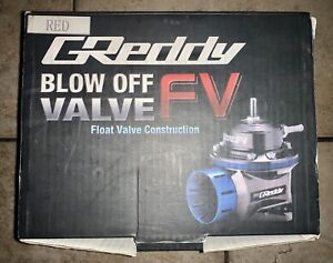 Trust Greddy Type Fv Universal 40mm Blow Off Valve Bov 100 Authentic Red