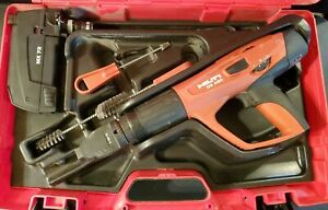 Hilti Dx 460 Powder Actuated Nail Gun Kit F8 Mx 72 With Case And Accessories