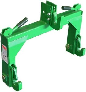 Quick Hitch Adapter To Convert Category 1 And 2 Tractor 3 Point Hitch Connection