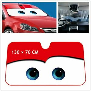 Big Eyes Car Universal Sunshade Uv Protection Visor Cover Fit For Front Window