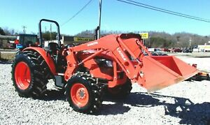 2017 Kubota M7060 4x4 Loader Hydraulic Shuttle free 1000 Mile Delivery From Ky