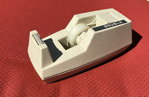 Vintage 3m Scotch Deluxe C 40 C40 Tape Dispenser Putty Color Heavy Duty Weighted