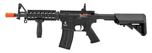 Lancer Tactical Full Metal AR 15 Style M4 AEG Airsoft Assault Rifle Collapse STK $148.88