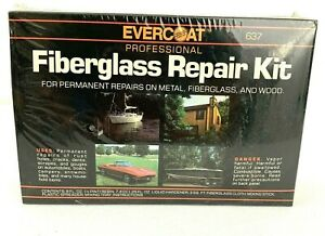 Fiberglass Repair Kit Evercoat 637 Professional 1 2 Pint Resin New In Box