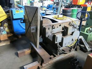 Aronson Welding Positioner 30 Square Faceplate