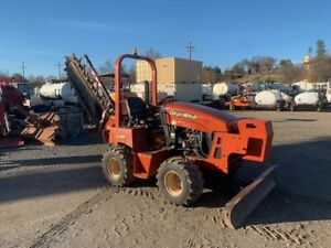 2011 Ditch Witch Rt45 Tw h314 Trencher 704 Orig Hours Fresh paint Work Ready