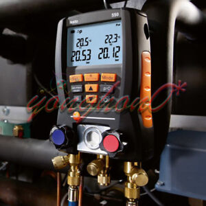 Testo 550 2 Digital Manifold Gauge Helps Refrigerant New Service 0563 5506 New