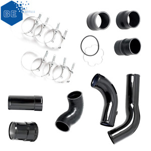 Hot Cold Side Intercooler Pipe Boot Kit For 13 16 Ford 6 7l Powerstroke Diesel