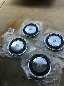 1974 1979 Cadillac Deville Fleetwood Hubcaps Wheel Covers