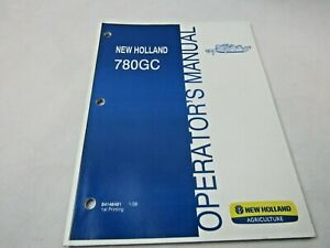 New Holland 780 Gc Cutter Mower Owners Maintenance Manual