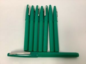 Pentel Rolling Writer Pens R100 d 0 8mm Green 8 Count Free Shipping