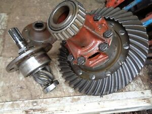 Ford Tractor Jubilee Differential Ring Gear Pinion W housings