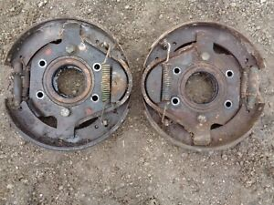 Ford Tractor Jubilee Brake Plate W bearing Retainer Shoes Springs Keepers L r