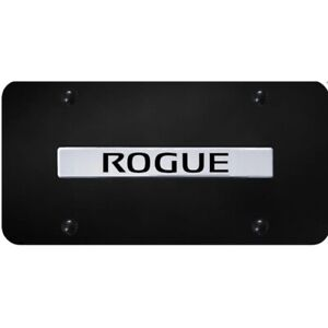Au Tomotive Gold Chrome Black Powder Coated Car License Plate For Nissan Rogue