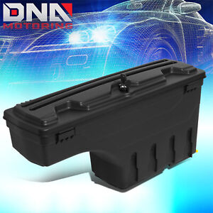 For 2007 2020 Toyota Tundra Passenger Right Truck Bed Swing Case Storage Box