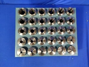 5c Collets 30 Pc Set With Rack