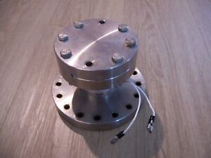 Conflat 6 Cf To 4 5 Cf Adapter Reducer With 4 5 Blank And Bakeout Heater