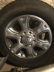 Ram 2500 3500 Hd Oem Wheels Rims And Tires 8 Lug 8 X 6 5 20 Inch Dodge Ram Rims