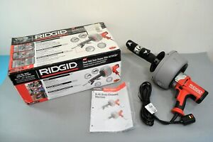 Ridgid K 45af Autofeed Sink Drain Machine W Cable Plumbing Pipe Cleaning Tool