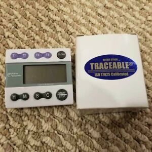 Fisherbrand Traceable Big digit Timer stopwatch Model S407992