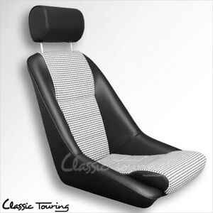 1965 73 Porsche 911 912 Rs Touring Sport Seat Leatherette Houndstooth