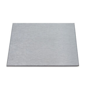 Stainless Steel 316 Brushed Dp1 Satin Laser Cut 3mm Thick Sheet plate