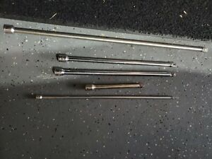 Snap on Mac Tools 3 8 1 4 friction Ball Extension Set 5pc