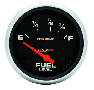 Autometer 5416 Pro comp Electric Fuel Level Gauge