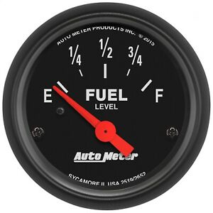Autometer 2652 Z series Electric Fuel Level Gauge
