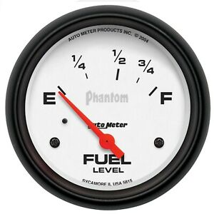 Autometer 5815 Phantom Electric Fuel Level Gauge