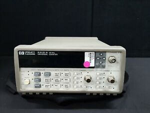 Hp_53131a Universal Frequency Counter w opt 030 010 3624