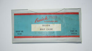 1960 s Buick Map Case Genuine Buick Accessory Oem 980336