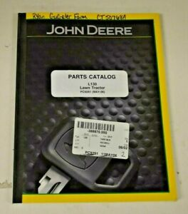 Pc9291 John Deere Parts Catalog For L130 Lawn Tractor