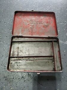 Snap on Tools Empty Metal Vintage Tool Box Kra275 Made In Usa