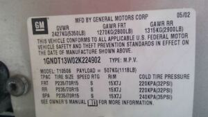 Console Front Floor Without Tow Package Fits 00 02 Blazer S10 Jimmy S15 3415173
