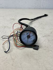 Glow Shift White 7 Color 30 Psi Boost Vacuum Gauge Gs C701 Glowshift Boost