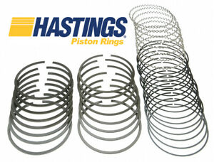 Hastings Moly Piston Rings Set For Chevy Sb 400 bb 348 402 olds 455 4 145 020