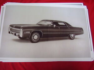 1973 Chrysler Imperial Lebaron Big 11 X 17 Photo Picture