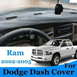 For Dodge Ram 1500 2500 3500 Dash Cover Mat Dashmat 2002 2003 2004 2005 Black
