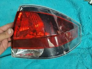 2008 2009 2010 2011 Ford Focus Sedan Passenger Right Tail Light Dark Edge