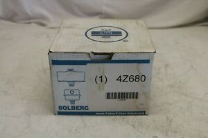 Solberg 4z680 Air Compressor Filter silencer