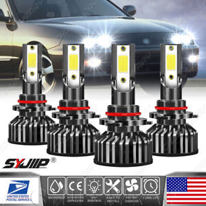 6000k Front Led Headlight Bulbs For Acura Integra 1994 2001 High Low Beam X4