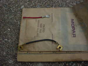 Mopar Some 50s 60s Nos Dual Point Distributor Lead Package Dodge Plymouth Ch950